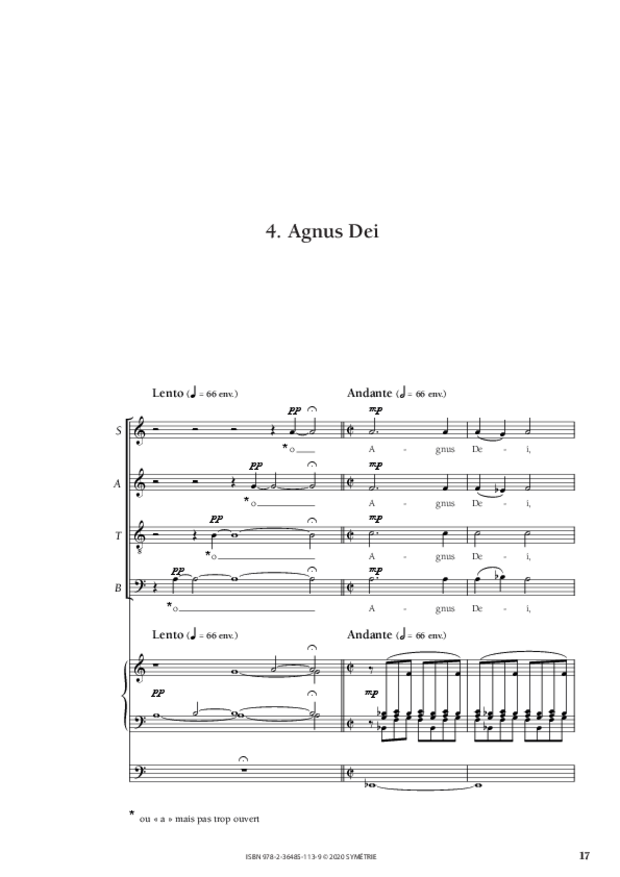 Messe brève, extrait 5