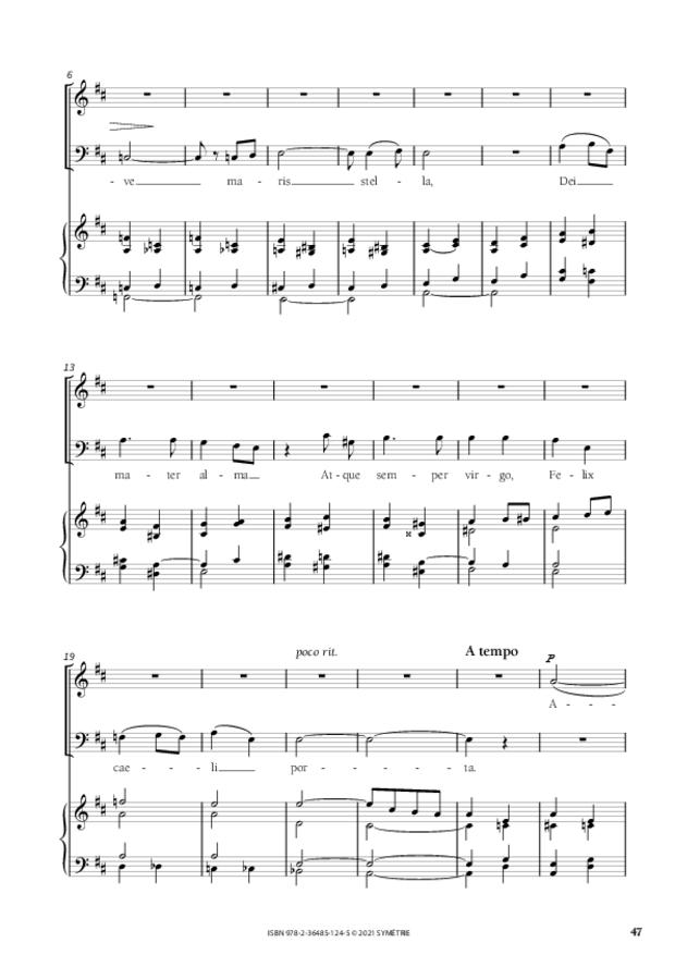 Les Dix Motets, extrait 11