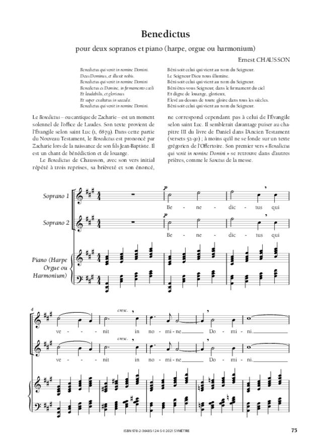 Les Dix Motets, extrait 13