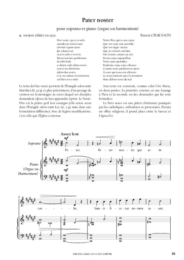 Les Dix Motets, extrait 14