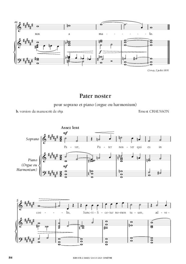 Les Dix Motets, extrait 15