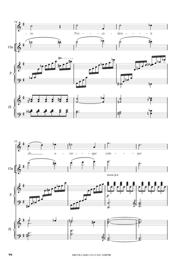 Les Dix Motets, extrait 16