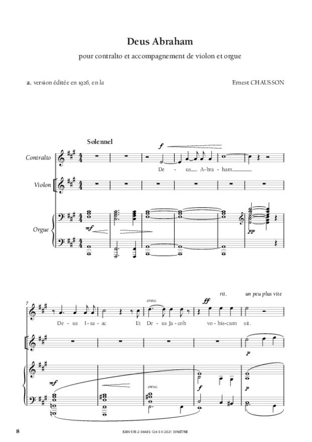 Les Dix Motets, extrait 5