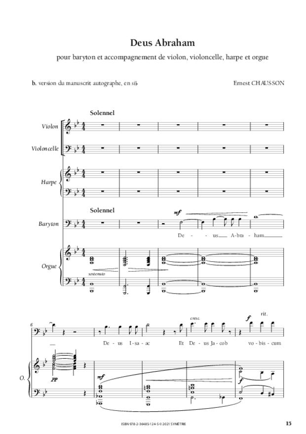 Les Dix Motets, extrait 6