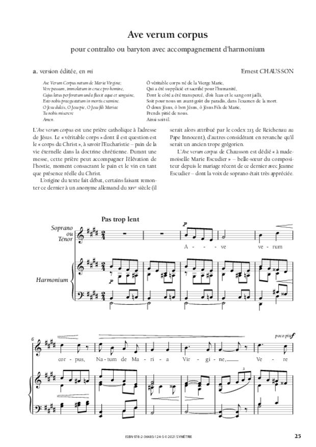 Les Dix Motets, extrait 7