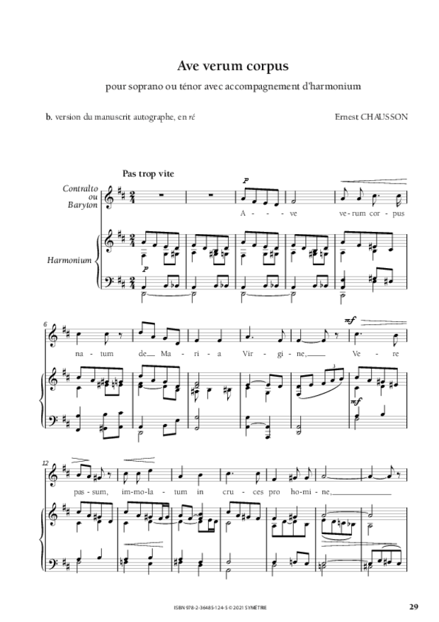 Les Dix Motets, extrait 8