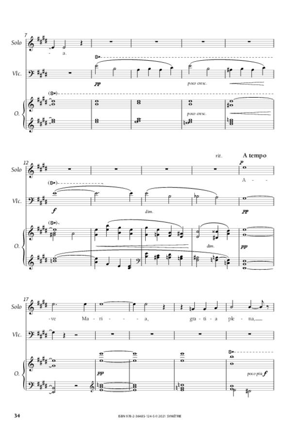 Les Dix Motets, extrait 9