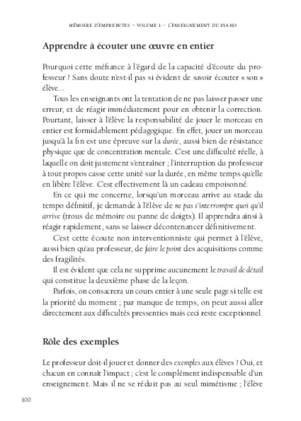 Mémoire d'empreintes, extrait 8