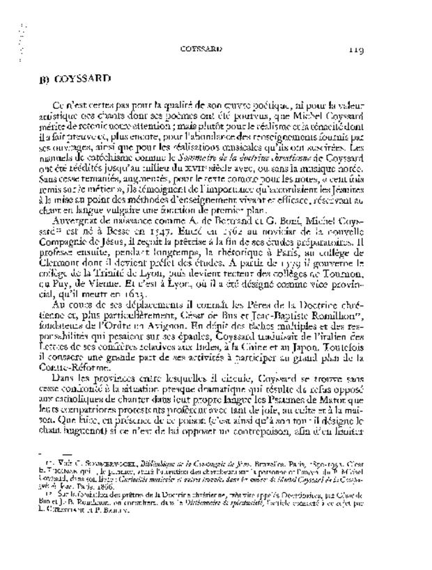 La Musique religieuse en France du concile de Trente à 1804, extrait 2