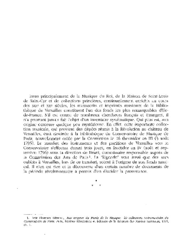 Catalogue du fonds musical de la bibliothèque de Versailles, extrait 2