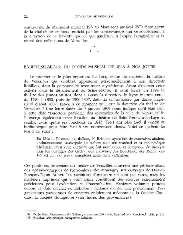 Catalogue du fonds musical de la bibliothèque de Versailles, extrait 3