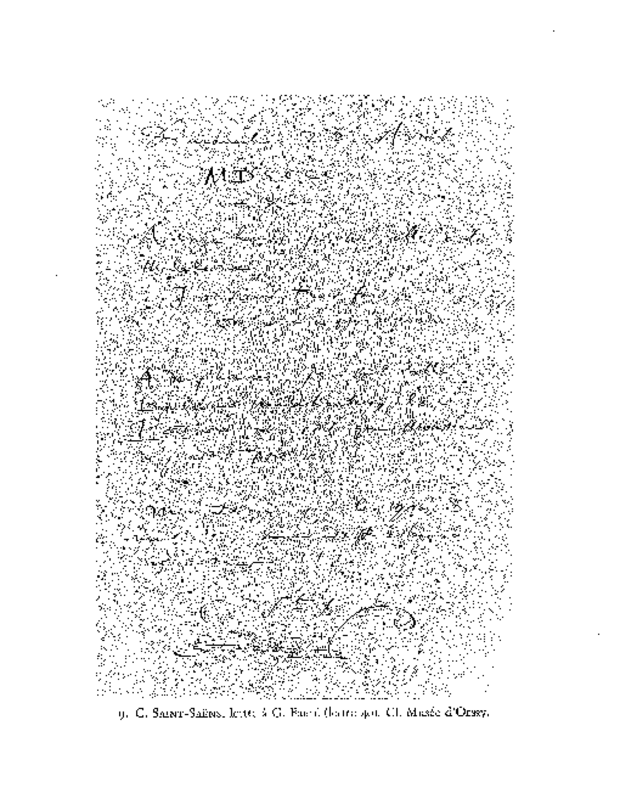 Correspondance, extrait 5