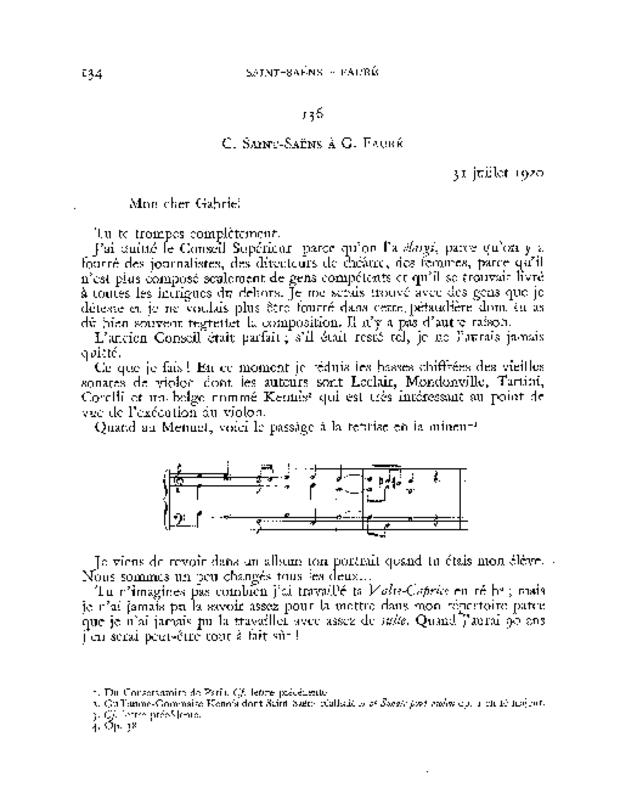 Correspondance, extrait 7