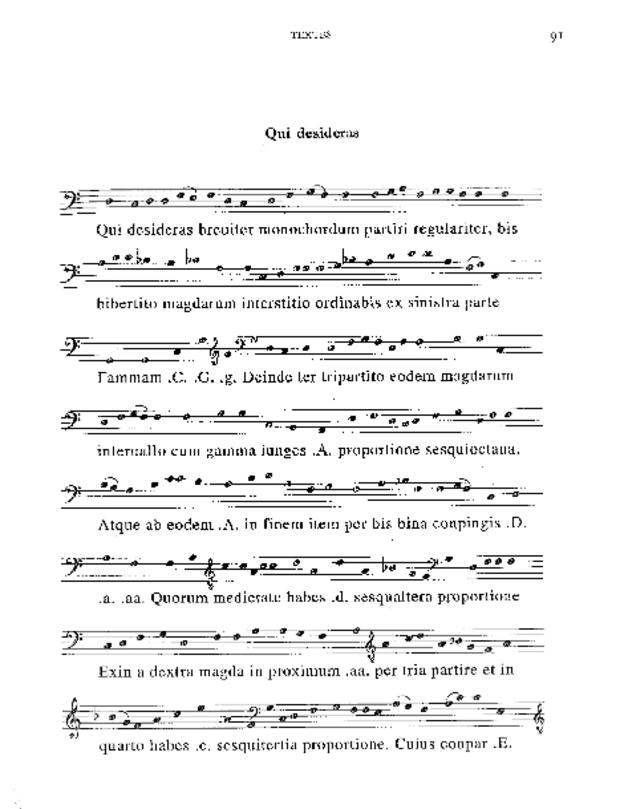 Mensura monochordi, extrait 5