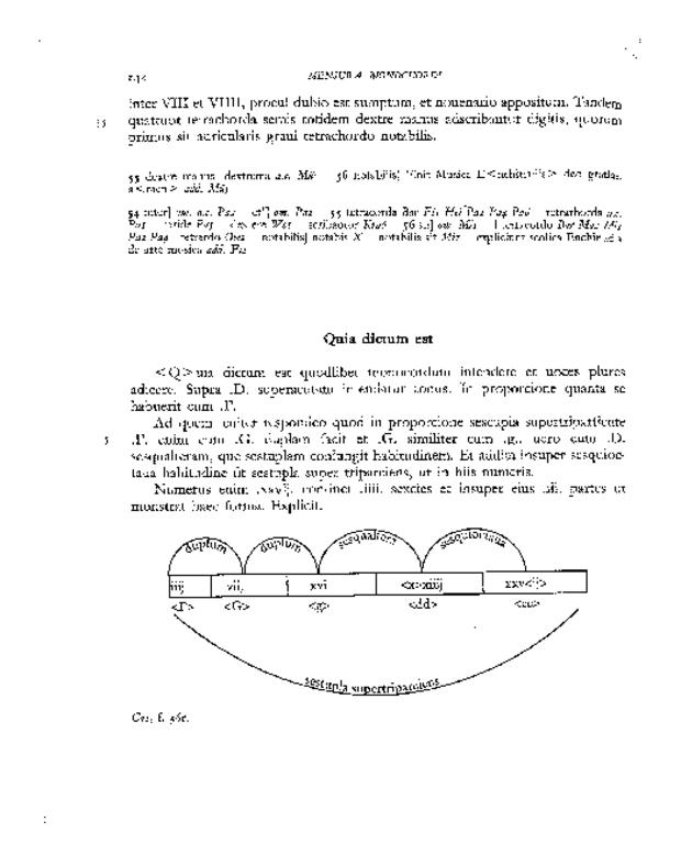 Mensura monochordi, extrait 8