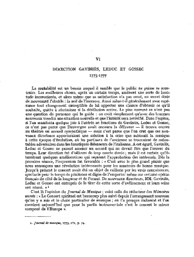 Histoire du Concert spirituel, extrait 5