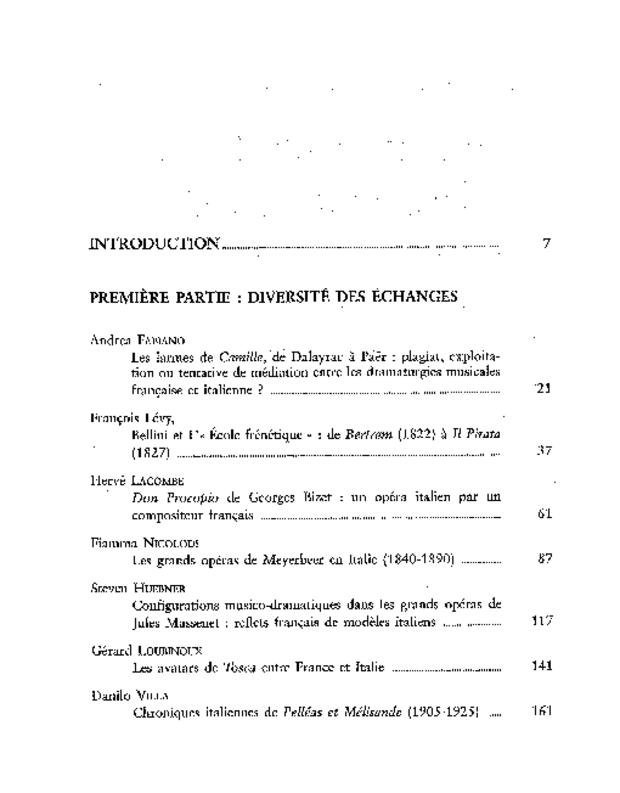 L'Opéra en France et en Italie (1791-1925), extrait 7