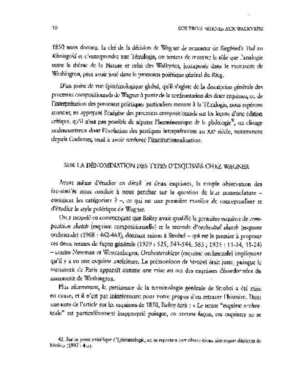 Les Esquisses de Richard Wagner pour «Siegfried's Tod» (1850), extrait 3
