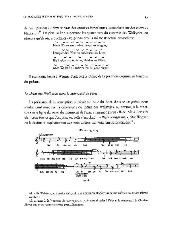 Les Esquisses de Richard Wagner pour «Siegfried's Tod» (1850), extrait 4