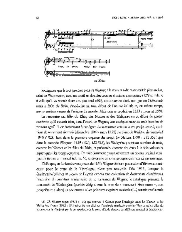 Les Esquisses de Richard Wagner pour «Siegfried's Tod» (1850), extrait 5