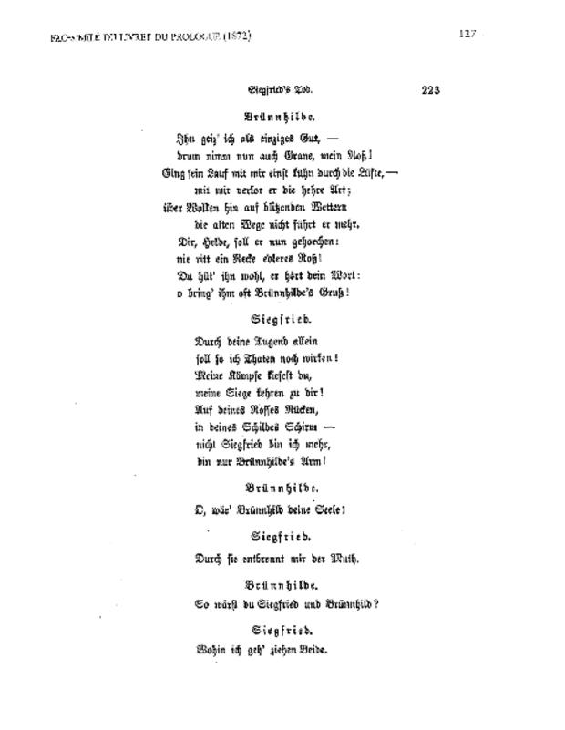 Les Esquisses de Richard Wagner pour «Siegfried's Tod» (1850), extrait 6