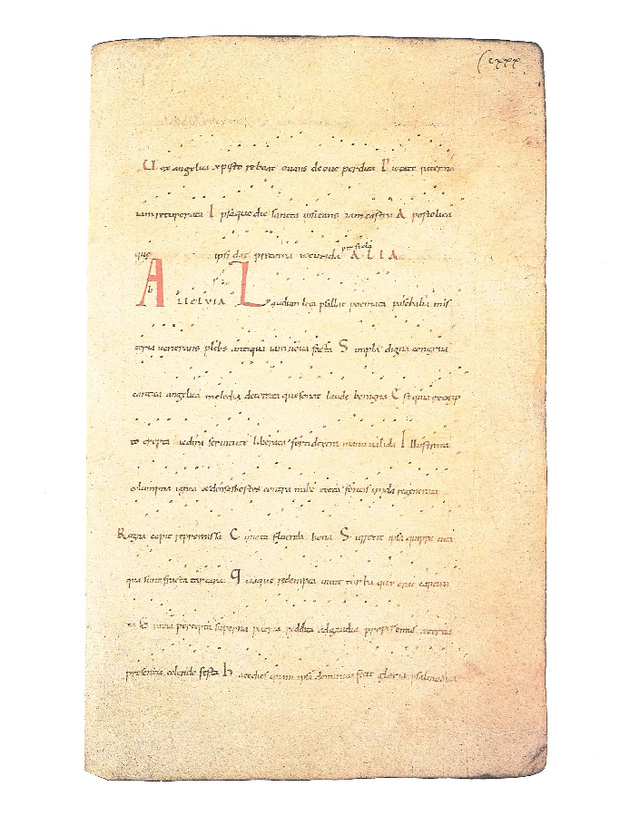 Tropaire séquentiaire prosaire prosulaire de Moissac, extrait 7