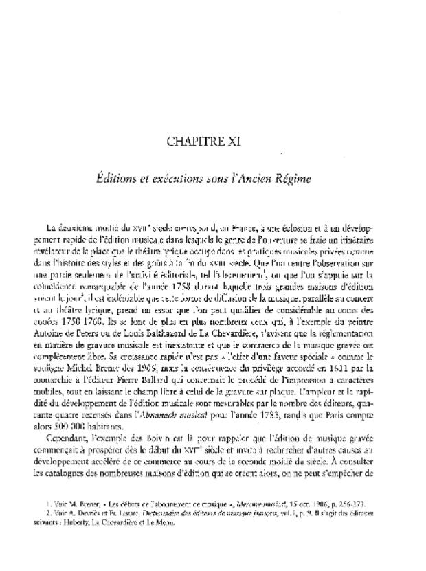 L'Ouverture d'opéra en France, extrait 6