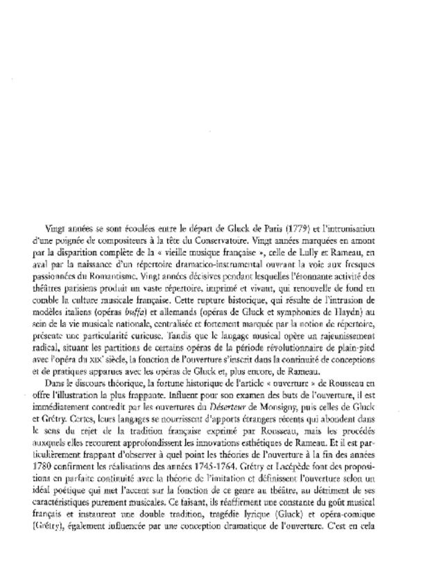 L'Ouverture d'opéra en France, extrait 7