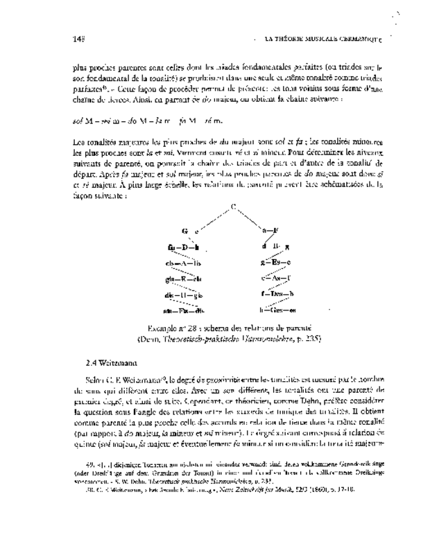 La Théorie musicale germanique du XIXe siècle et l'idée de cohérence, extrait 3