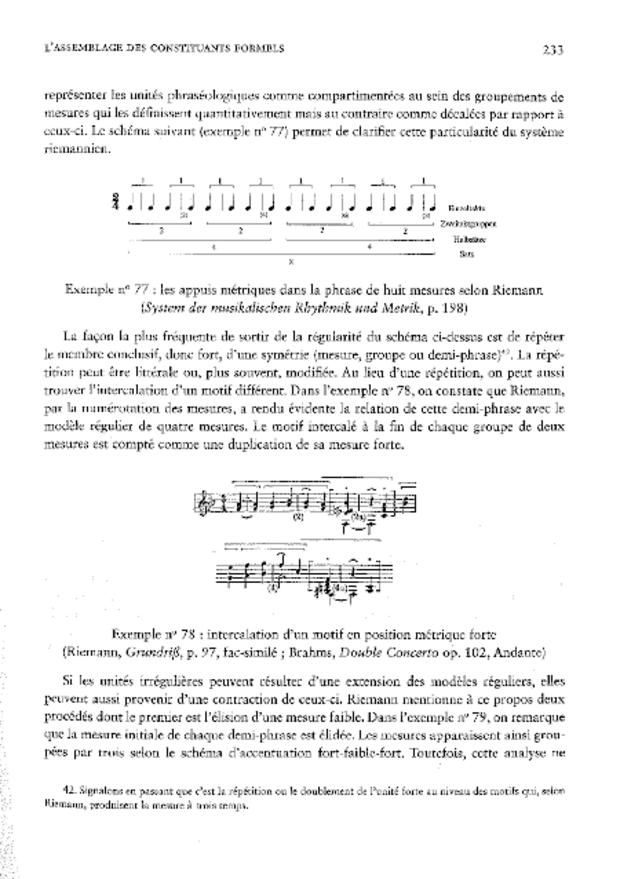 La Théorie musicale germanique du XIXe siècle et l'idée de cohérence, extrait 5