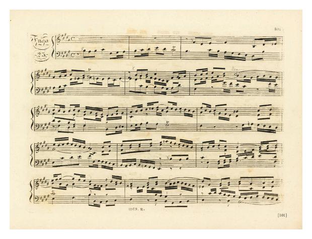 Vingt-Quatre Préludes et Fugues, extrait 6