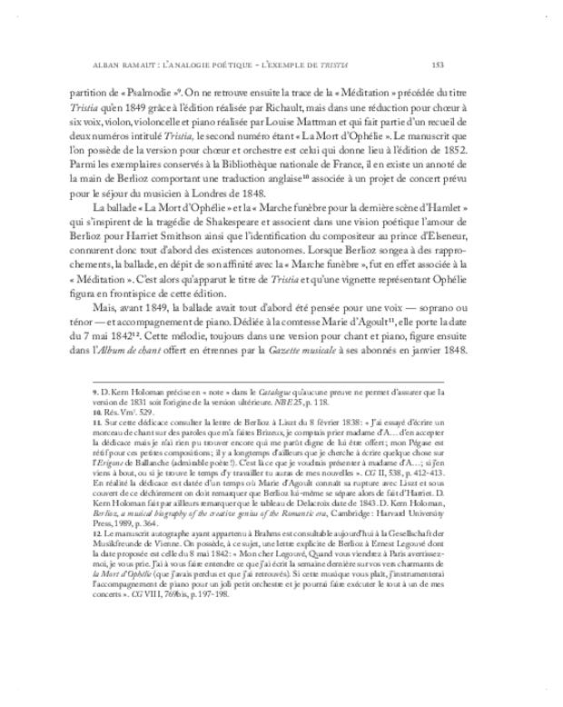 Berlioz, textes et contextes, extrait 3