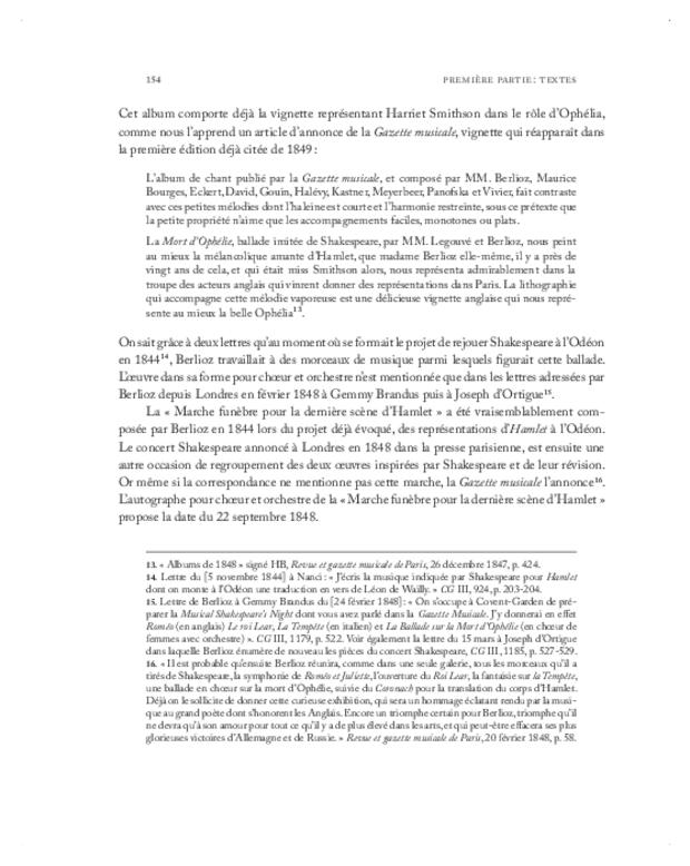 Berlioz, textes et contextes, extrait 4