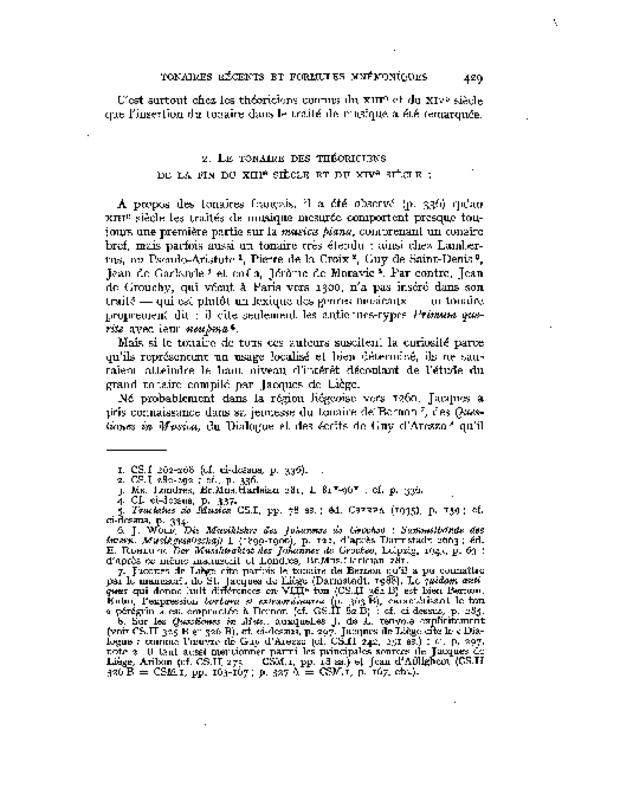 Les Tonaires: inventaire, analyse, comparaison, extrait 7