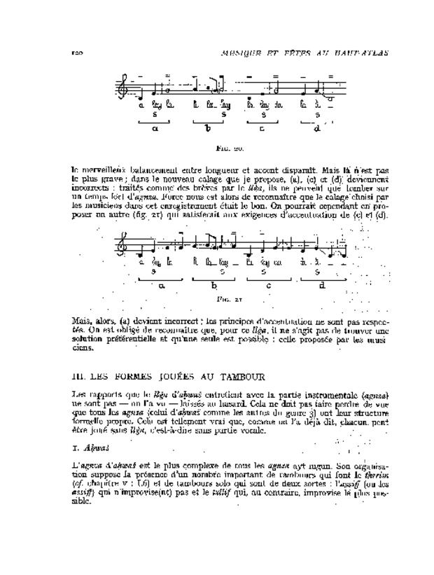 Musique et fêtes au Haut-Atlas, extrait 6