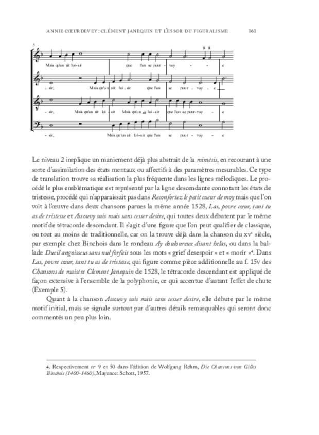 Clément Janequin: un musicien au milieu des poètes, extrait 4