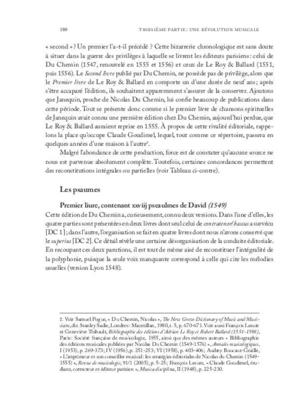 Clément Janequin: un musicien au milieu des poètes, extrait 5