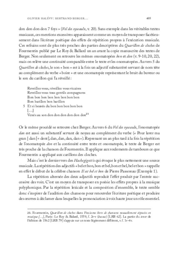 Clément Janequin: un musicien au milieu des poètes, extrait 7