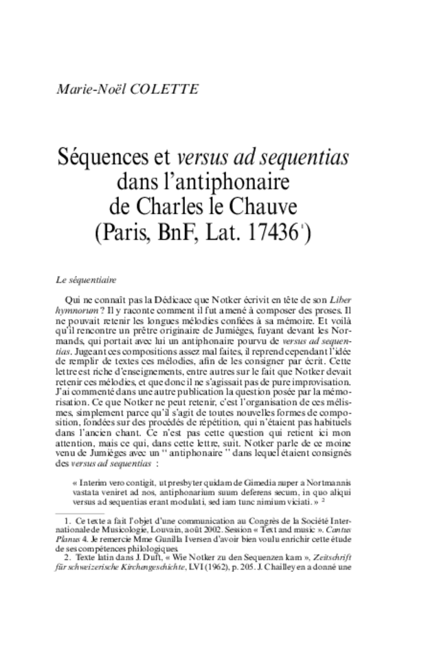 Revue de musicologie, t. 89/1 (2003), extrait 3