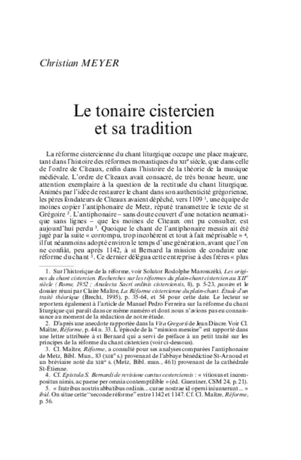 Revue de musicologie, t. 89/1 (2003), extrait 6