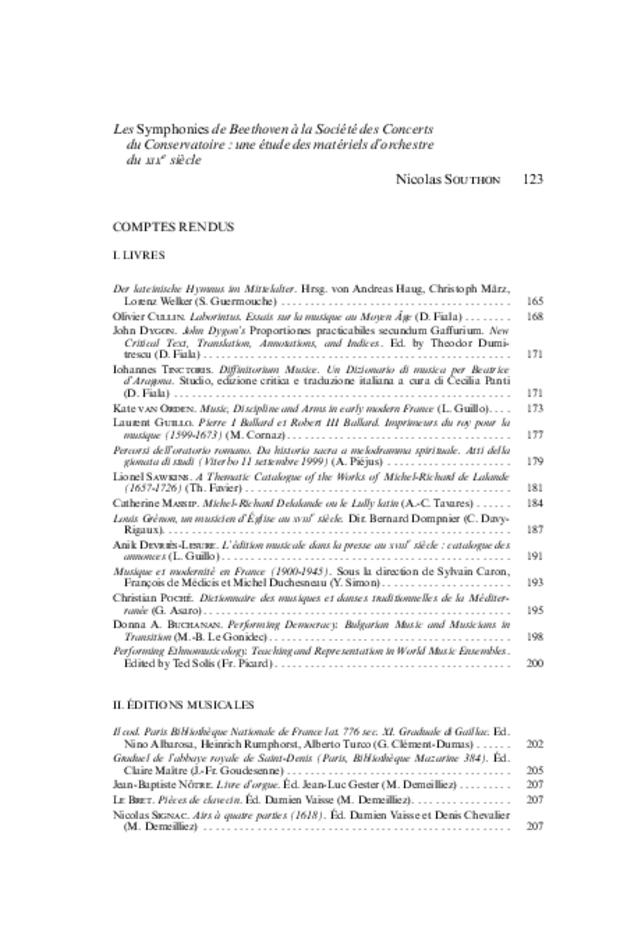 Revue de musicologie, t. 93/1 (2007), extrait 2