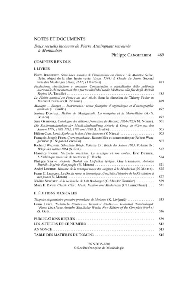 Revue de musicologie, t. 93/2 (2007), extrait 2