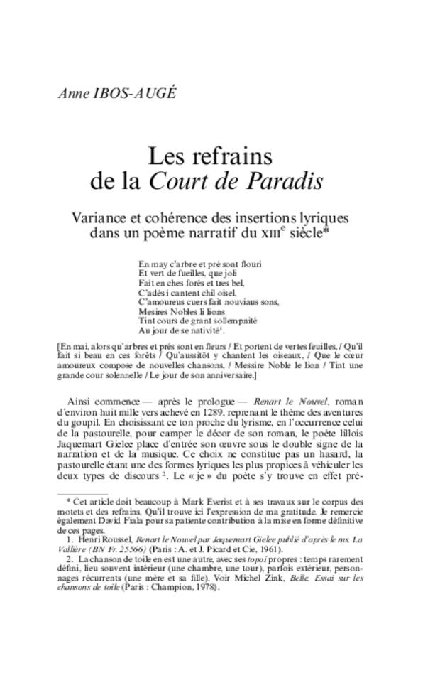 Revue de musicologie, t. 93/2 (2007), extrait 3