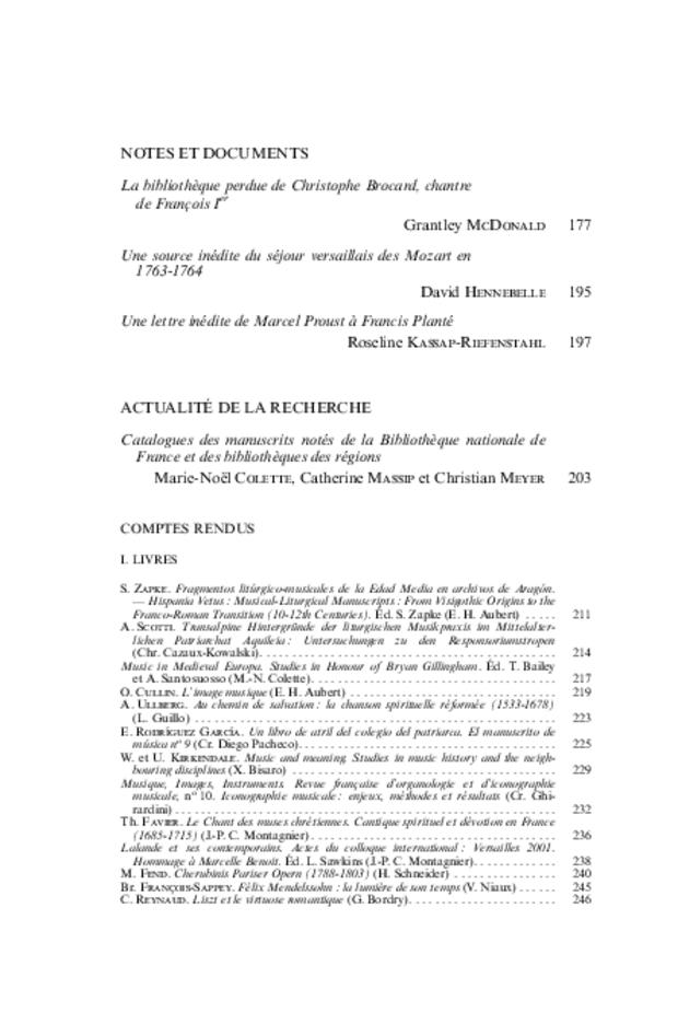 Revue de musicologie, t. 95/1 (2009), extrait 2