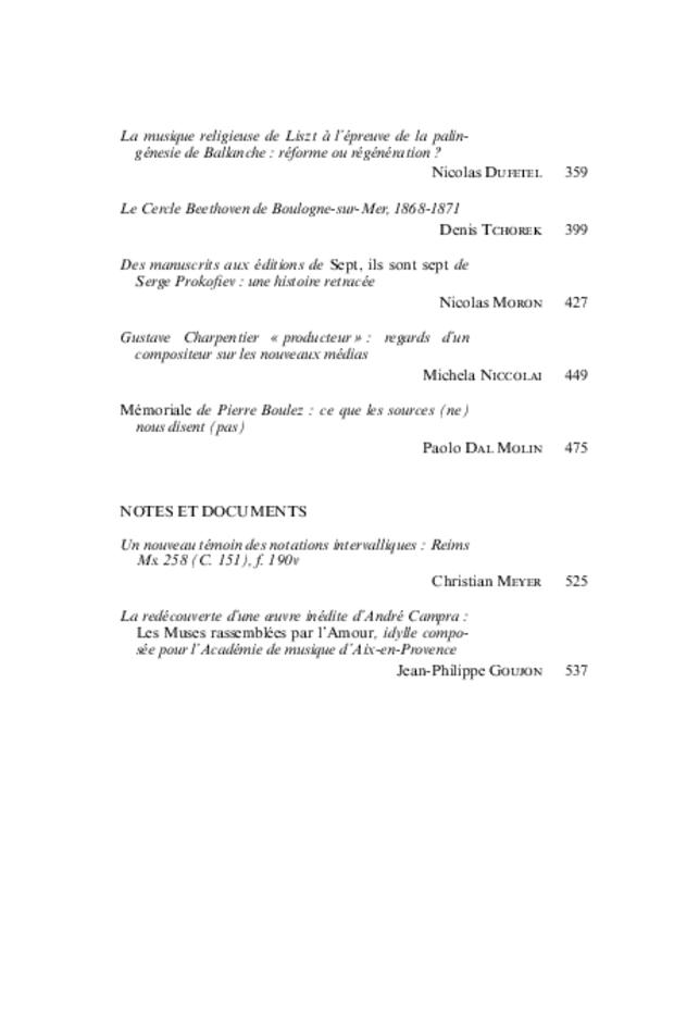 Revue de musicologie, t. 95/2 (2009), extrait 2