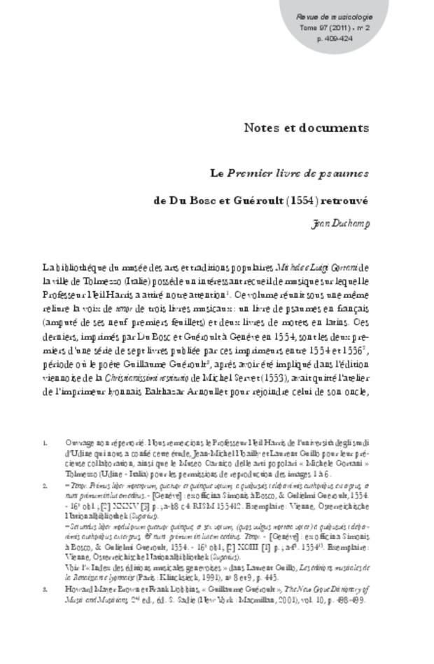 Revue de musicologie, t. 97/2 (2011), extrait 11