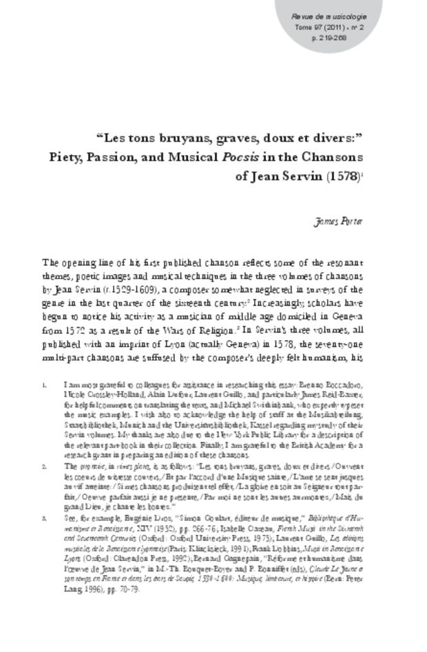 Revue de musicologie, t. 97/2 (2011), extrait 3