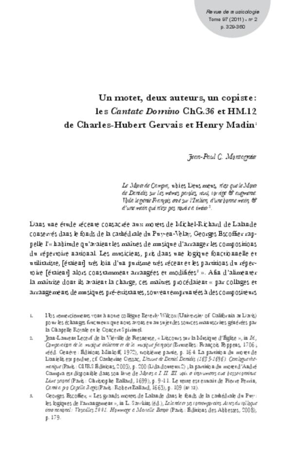 Revue de musicologie, t. 97/2 (2011), extrait 7