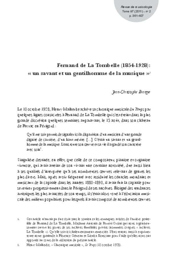 Revue de musicologie, t. 97/2 (2011), extrait 9