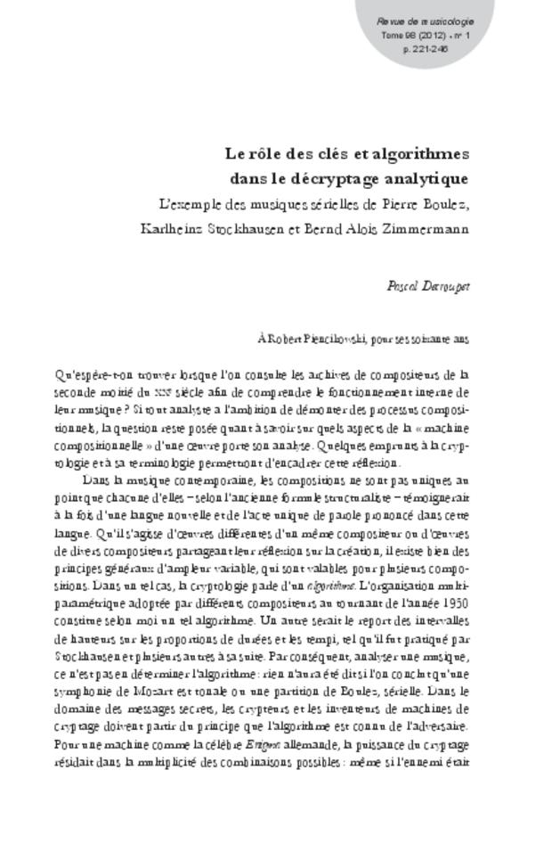 Revue de musicologie, t. 98/1 (2012), extrait 29